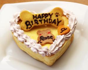 バースデーチーズケーキ